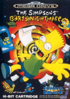 Sega Mega Drive: The Simpsons: Bart's Nightmare - Boxed & Complete